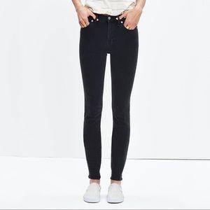 "Madewell 9"" high riser skinny skinny jeans 31"